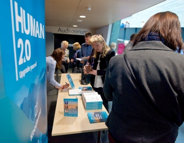 Book stand by Human 2.0. Photo by Aimar Säärits